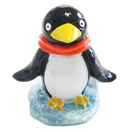 Kids Cute Penguin Colourful Fish Tank Aquarium Ornament